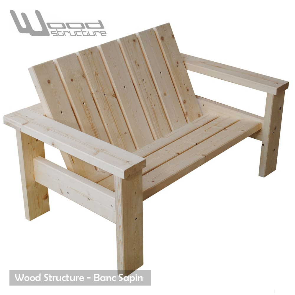 Banc bois for Banc de table en bois