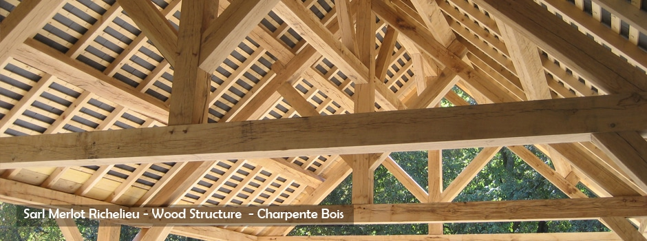 Wood Structure Skatepark Charpente Mobilier