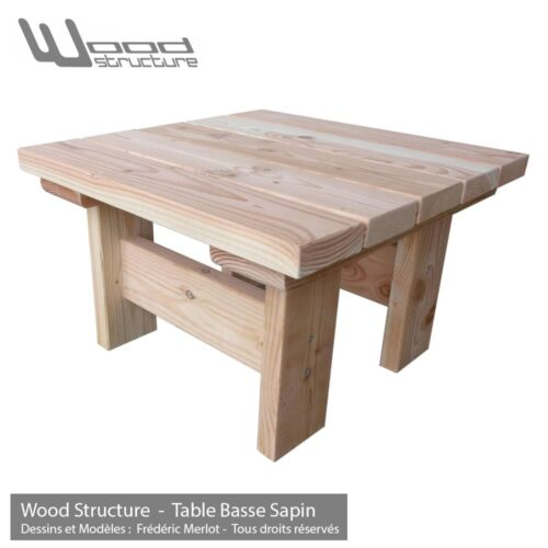 table pique nique banc table de jardin wood structure. Black Bedroom Furniture Sets. Home Design Ideas