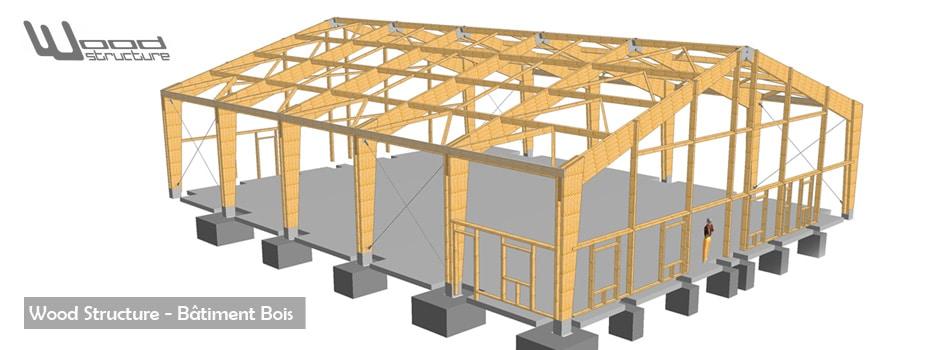 Bureau Etude Bois Wood Structure # Structure Charpente Bois