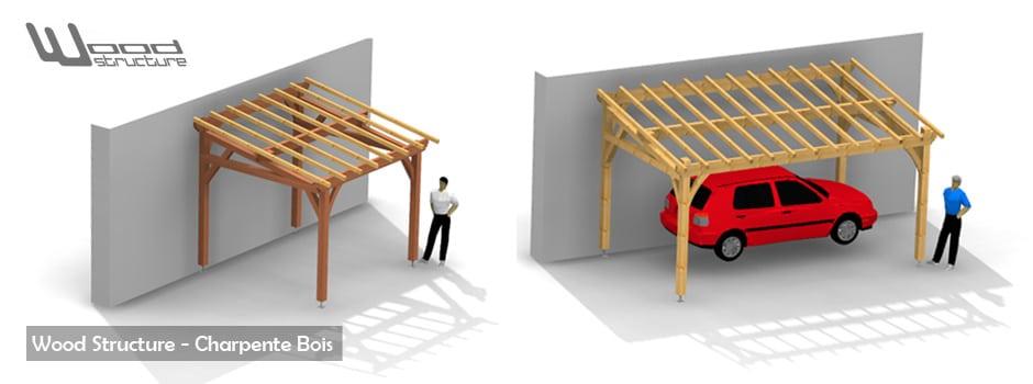 Kit charpente bois wood structure for Charpente en kit prix