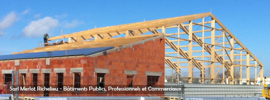 B timent bois wood structure r gion centre val de loire for Batiment structure bois