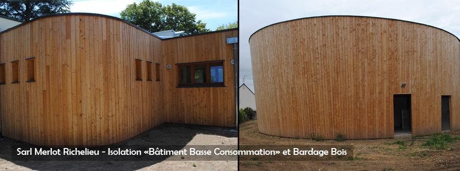 B timent bois bbc wood structure centre val de loire for Batiment structure bois