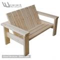 Banc sapin du nord - Design Wood Structure - Fabriquée en France par la Sarl Merlot - Fauteuil - Banc - Mobilier bois et Salon de Jardin