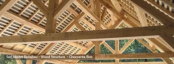 Taille de Charpente Bois sur-mesure - Kit Charpente Bois - Maisons bois - Bâtiment Bois - Aménagements Extérieur - WOOD STRUCTURE
