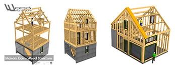 Bureau Etude Construction Bois Sport et Habitat - Skatepark - Charpente - Mobilier - Wood Structure