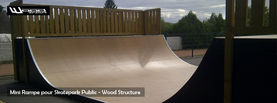 rampe skate wood structure skatepark. Black Bedroom Furniture Sets. Home Design Ideas
