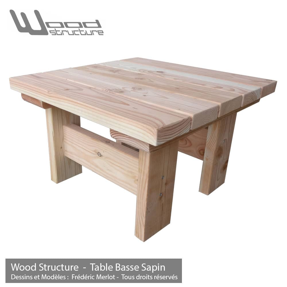 Table Basse Sapin