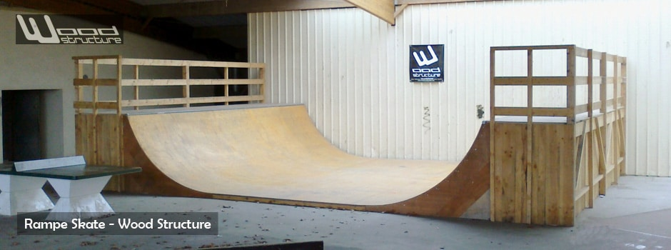 Kit Rampe Skate  Module et Rampe de Skate  Wood  ~ Construire Une Rampe De Skate En Bois