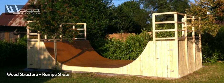Mini Rampe Skate - Normandie - Wood Structure - Fabricant de Rampe et module Skate depuis 1990