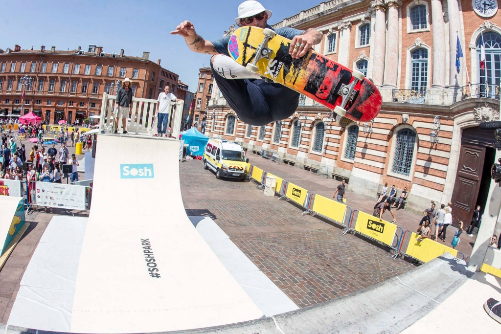 Sosh Park à Toulouses - Juin 2015 - Street & Ramp Design by Wood Structure Skatepark