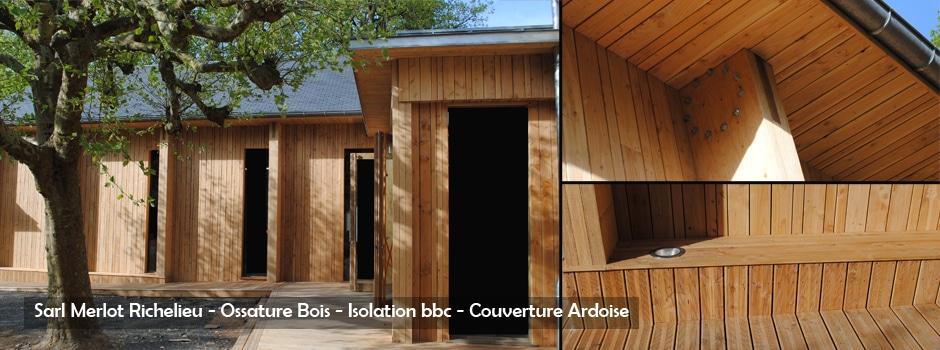 Bâtiment Bois - Industriel, Commercial et Public - Wood Structure - Bureau Etude Construction Bois -Charpente Ossature bois et Habitat - Richelieu - Indre et Loire - France