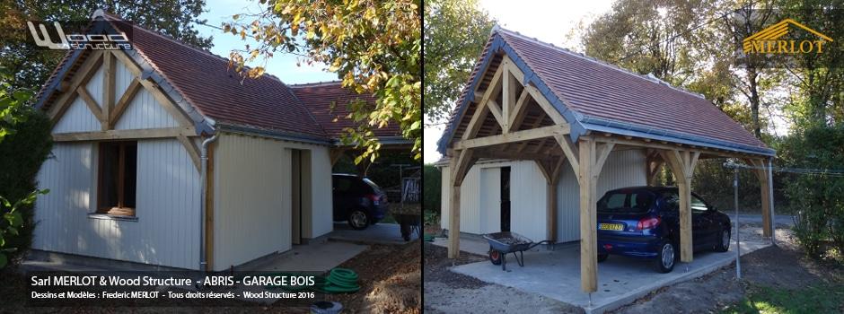 View larger image abri et garage 2 pans charpente bardage et couverture pour abri garage voiture