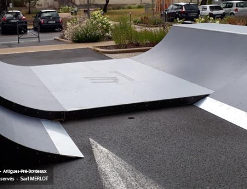 Mini Rampe Skate à Artigues-Pré-Bordeaux (33)