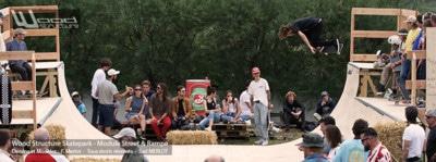 Sam Partaix Bday Ramp Skate - Avec Steve Caballero au festival Wheels & Wave 2017 à Biarritz