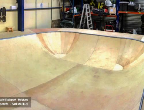 Double Corner Kit Bowl Skate pour Rampe H120