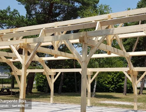 Kit Charpente Bois – Bâtiment – Garage – Abris