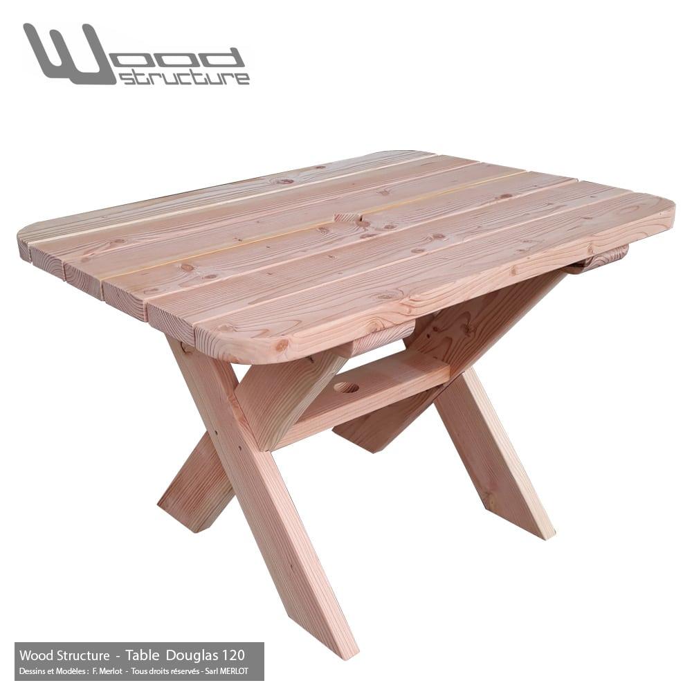 Table Douglas 120