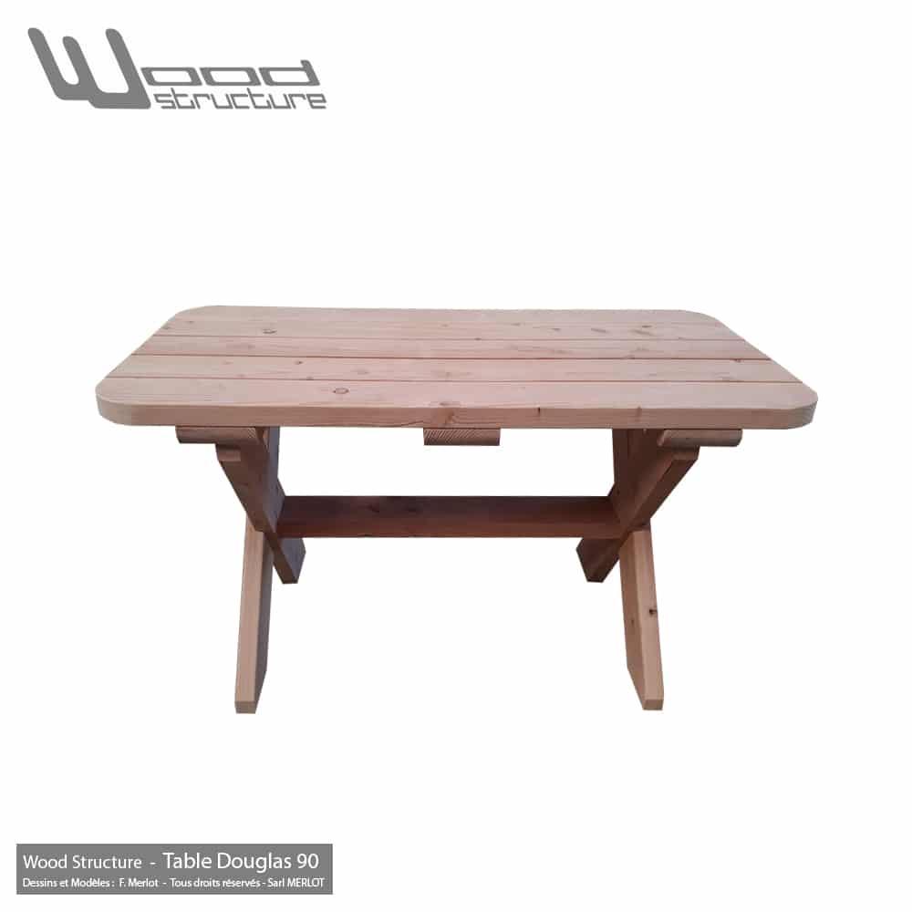 Table douglas wood structure - Mobilier jardin kettler france mulhouse ...