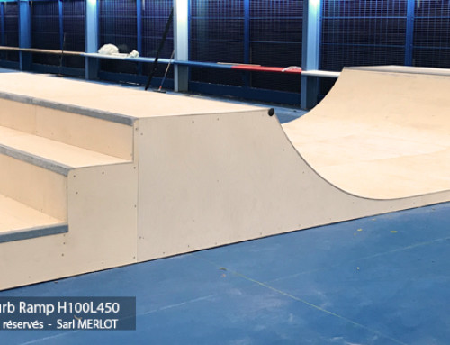 Curb Rampe Skate Adidas ZZ10 Saint-Denis (93)