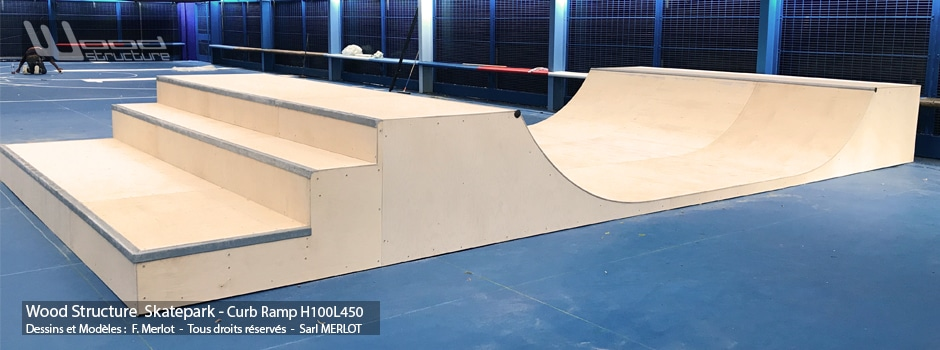 skatepark indoor de marseille wood structure. Black Bedroom Furniture Sets. Home Design Ideas
