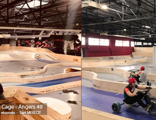 Drift Trike Park Indoor – LA CAGE – Riders Park – Angers (49)