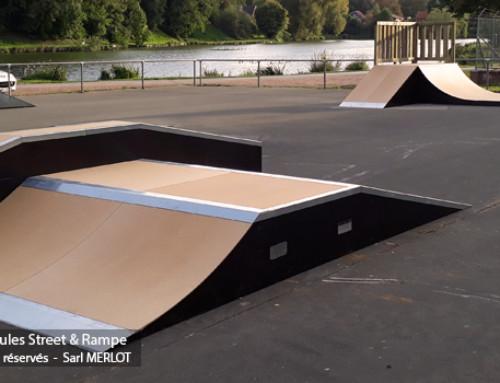 Skatepark de Calonne-Ricouart (62-Pas-de-Calais)
