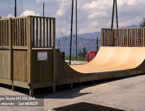 Mini Rampe Skate – Les Arcs 1800 – Bourg-Saint-Maurice