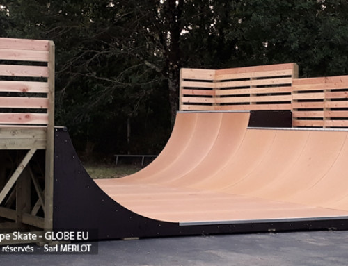 Rampe Skate GLOBE EU – Seignosse (40-Landes)
