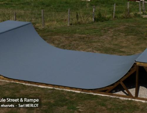 Kit Rampe Skate H120L450