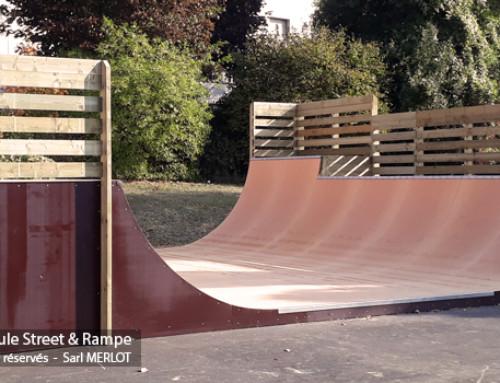 Rampe Skatepark Kremlin-Bicêtre 94