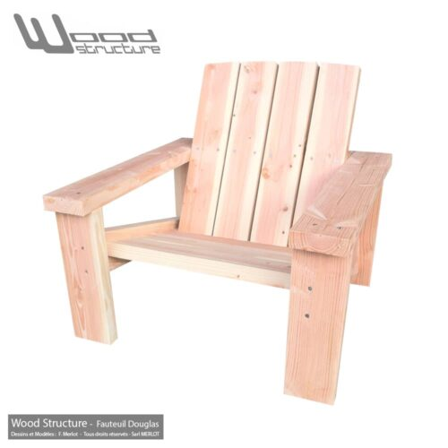 Salon de Jardin - Mobilier Bois - Prêt à monter - Wood Structure