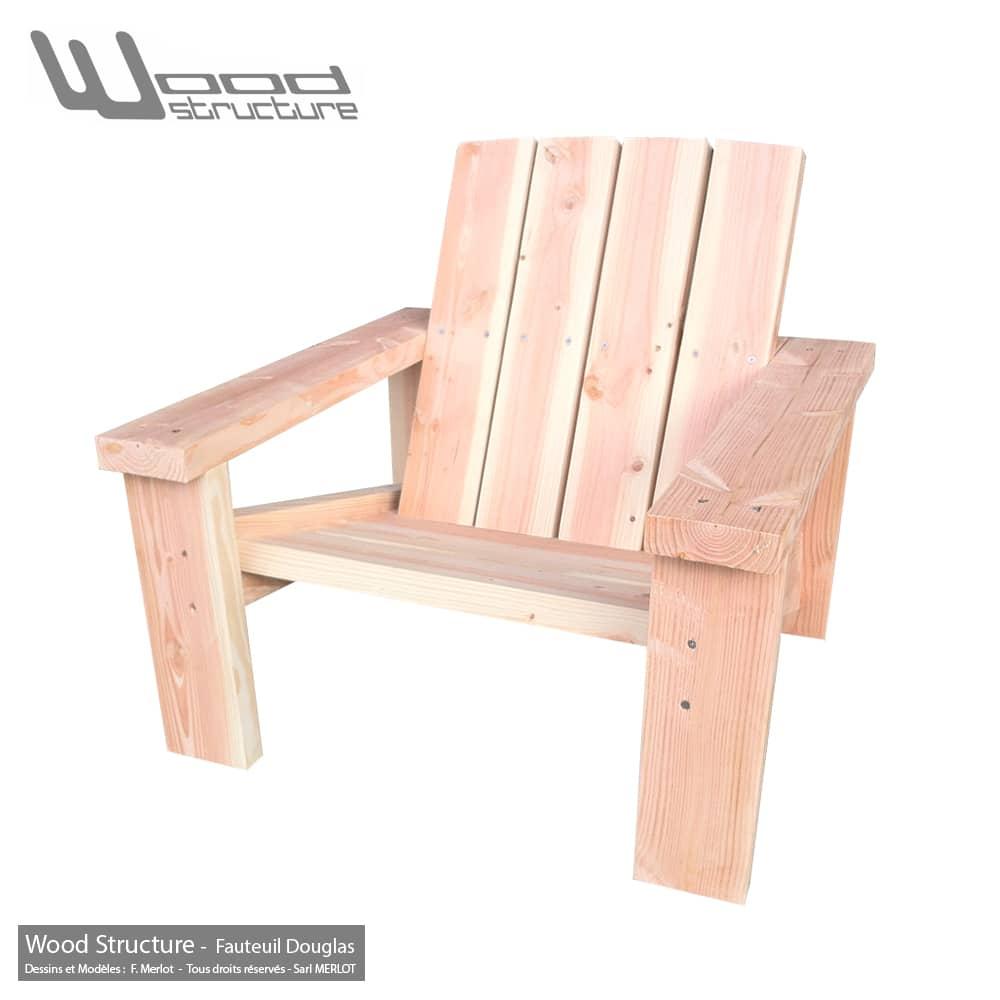 Abri De Jardin En Pin Douglas fauteuil douglas xl