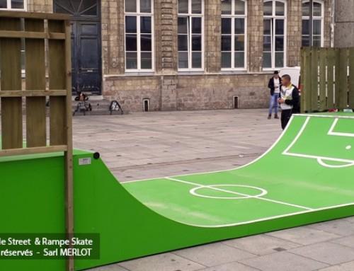 Rampe Skate Deco Football