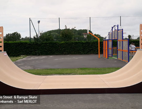 Rampe Skatepark Neufchâtel-Hardelot – 62