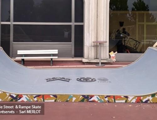Mini Rampe Skate – Le Parisien – Festival Paris Paradis (75)