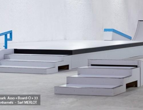 Skatepark Indoor de l'association Board-O (33)