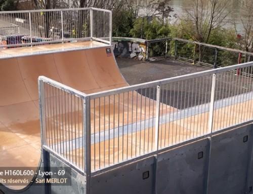 Rampe Skatepark – Lyon – 69