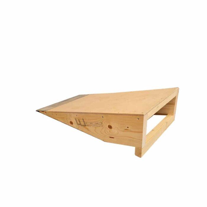 Bank Ramp Skate - Tremplin Plan incliné pour Skateboard Roller Bmx Trottinette - Wood Structure Skatepark