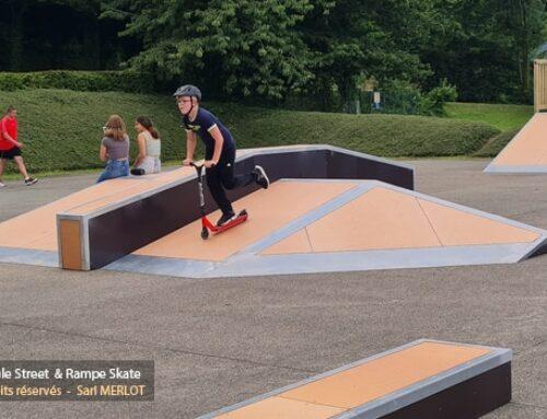 Skatepark du lac de Caniel (76)